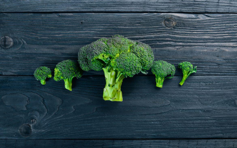Röschen vom Brokkoli