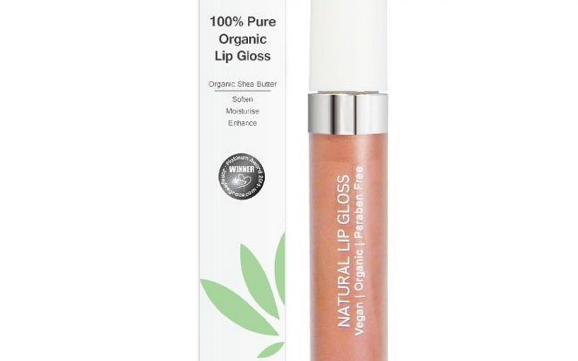 Organic Lip Gloss von PHB Ethical Beauty in der Nuance Tea Rose