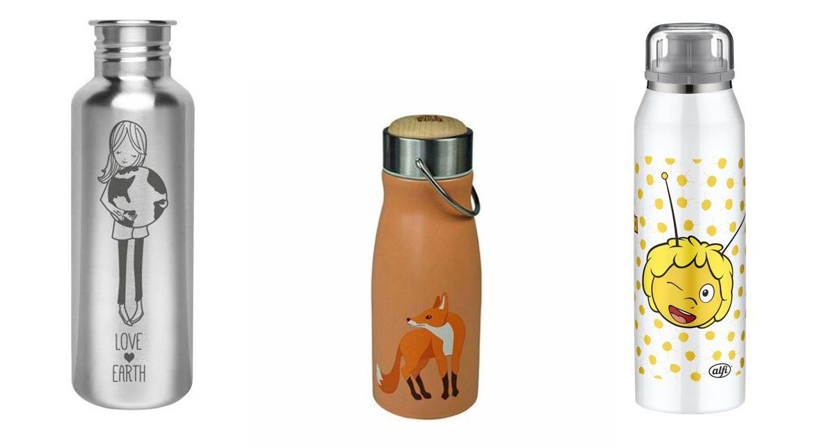 Die besten Edelstahlflaschen für Kinder